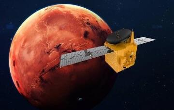 """阿联酋""""希望号""""火星探测器即将进入火星轨道"""