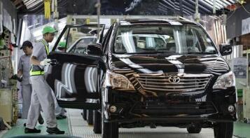 受地震影响丰田在日14条生产线将暂停运转