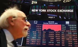 美股2月26日涨跌不一,道琼斯指数下跌470点,科技股反弹纳指收涨