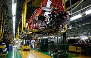 哈萨克斯坦金色草原汽车厂启动起亚汽车生产线