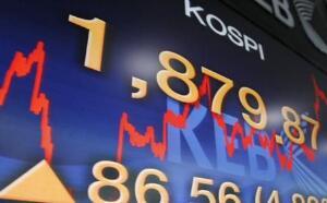 亚太地区股票周三多数下跌,日经225指数下跌0.86%