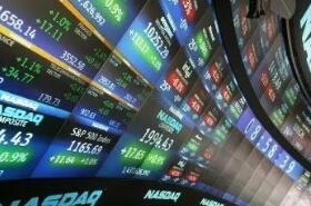 欧洲股市周三收盘下跌0.2%,银行类股下跌1.2%领跌