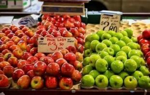 """4月15日:中国""""农产品批发价格200指数""""比昨天下降0.11个点"""