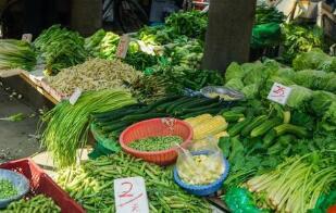 """4月22日:中国""""农产品批发价格200指数""""比昨天下降0.17个点"""