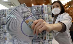 韩国4月外储4523亿美元再刷新高