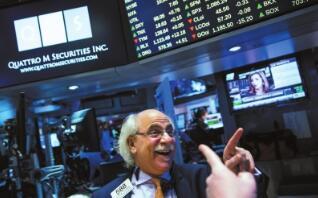 5月14日美股三大指数集体收涨,道琼斯指数涨逾400点
