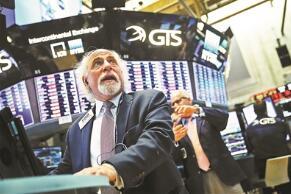 美股5月19日集体下跌,道琼斯指数下跌160点