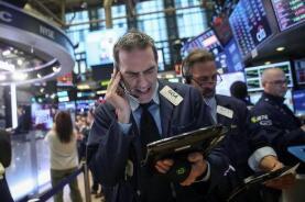 6月15日美股小幅下跌,道指跌近百点,投资者等待美联储会议