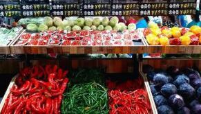 """7月9日:中国""""农产品批发价格200指数""""比昨天上升0.05个点"""