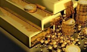 随着风险偏好减弱,7月22日国际黄金小幅上涨