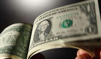 美元兑一篮子货币周四震荡走高,欧元下跌