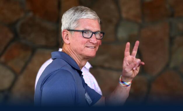 苹果公司第三财季业绩超出预期,但在iPhone芯片供应警告后,股价下跌