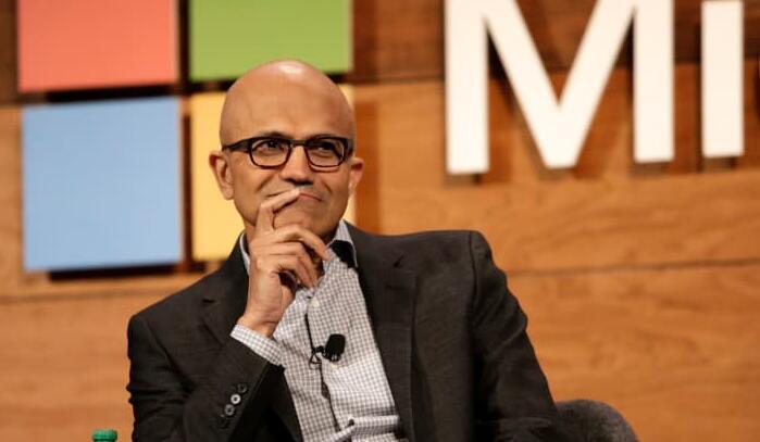 微软(Microsoft)第四财季财报超预期  同比增长 21%
