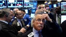 8月17日美股收跌,道琼斯指数下跌超280点,美7月份零售额下降