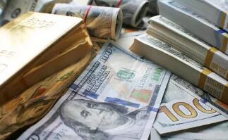 周一美元兑主要货币跌至一个月低点附近