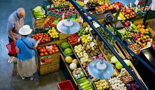 """9月22日:""""农产品批发价格200指数""""比节前上升0.09个点"""