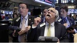10与11日美股下跌,道琼斯指数下跌250点
