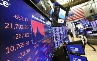10月14日美股上涨,道琼斯指数上涨530点