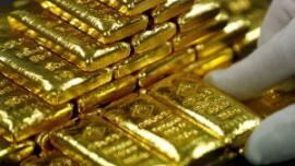 10月17日国际黄金期货下跌0.2% 连续第二日下跌