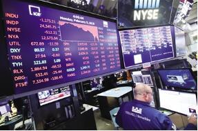 10月19日美股上涨  标普500指数连续第五个交易日上涨
