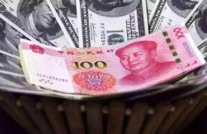 10月22日,人民币对美元中间价调贬142个基点
