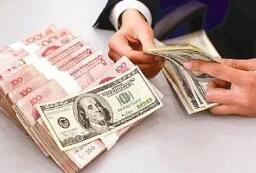 10月25日,人民币兑美元中间价调升108个基点